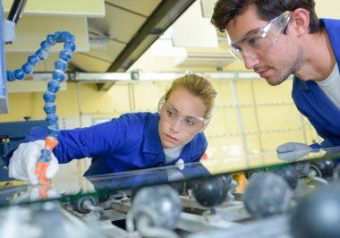 industrial glass maker